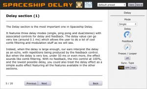 Spaceship Delay