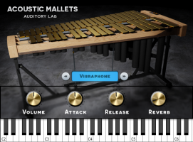 Acoustic Mallets: Vibraphone & Glockenspiel - (Mac/PC, VST, AU)