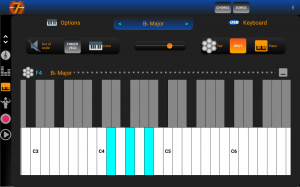 7Pad scales and chords