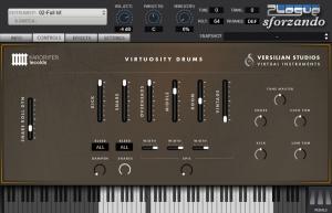 Virtuosity Drums Controls