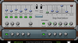 Strings Dream Synthesizer