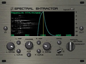 Spectral eXtractor
