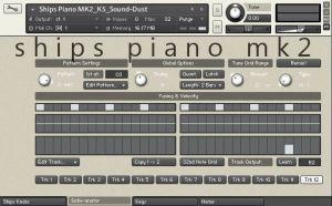 Ships Piano MK2