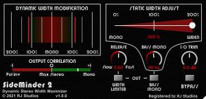 Raising Jake Studios SideMinder 2 - Dynamic Stereo Width Maximizer
