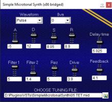 Simple Microtonal Synth