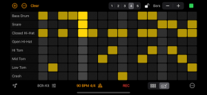 The new sequencer in Rhythm Pad (Version 5)
