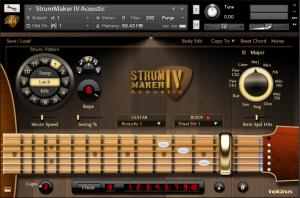 StrumMaker IV Acoustic Guitar