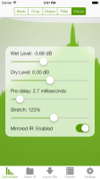 Mobile Convolution iPhone Screen 2