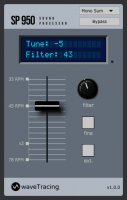 SP950 effect plugin