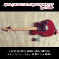 Space guitar carbon copy sample library by Dr Tikov