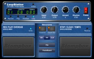 StompBox Guitar Effect App for iPad