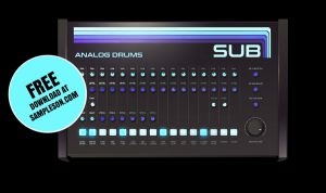 SUB. Free Analog Drums