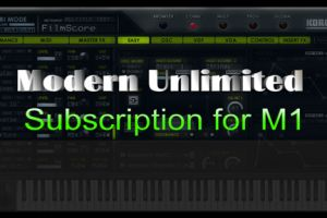 The Modern Unlimited Subscription for Korg M1