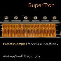 SuperTron Presets For Arturia Mellotron V