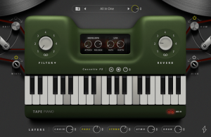 The pianist - Emutional expansion for Tape Piano VST