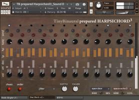 Tiny Binaural Harpsichord³
