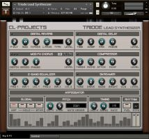 Triode Lead Synthesizer