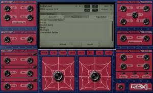 RBXL - Sinusoidal Spider - Theme menu