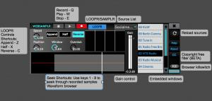 webSamplr 2.0: Sample/loop the web in Ableton Live