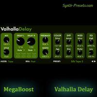 MegaBoost Presets for ValhallaDelay