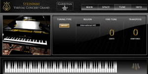 Authorized Steinway Virtual Concert Grand Piano