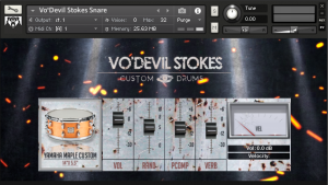 VO'DEVIL STOKES DRUMS
