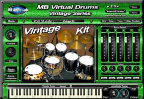 MB Virtual Drums Vintage Series