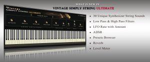 vintage simply string ultimate
