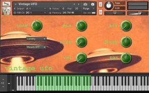 Old Timer Vintage UFO