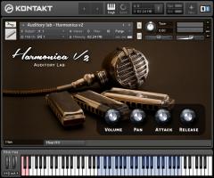 Harmonica - Auditory Lab VST-AU-AAX