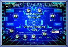 Virtual Room Emulator Reverb