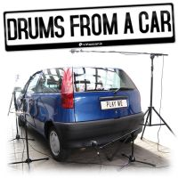 Drums From a Car