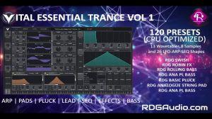 Vital Essential Trance Vol 1