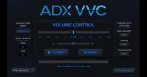 ADX Vocal Volume Control (GUI)