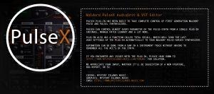 PulseX Editor
