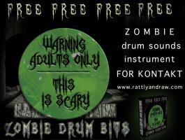 Zombie Drum Bits