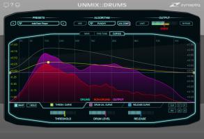 UNMIX::DRUMS Curves View