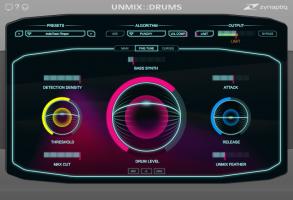 UNMIX::DRUMS Fine-Tune View